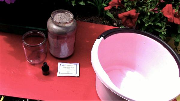 Борная кислота, йод и зола